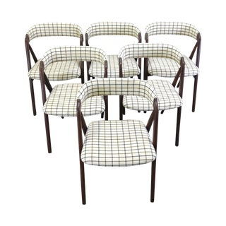 Mid-Century Kai Kristiansen Style Dining Chairs