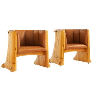 Wendell Castle Lounge Chairs