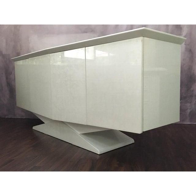 Modern Ello Inspired Art Deco Modern Lacquer Credenza - Image 3 of 10