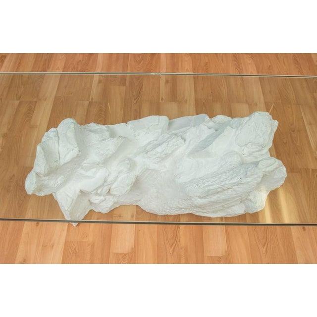Sirmos White Plaster Rocks Coffee Table - Image 6 of 6