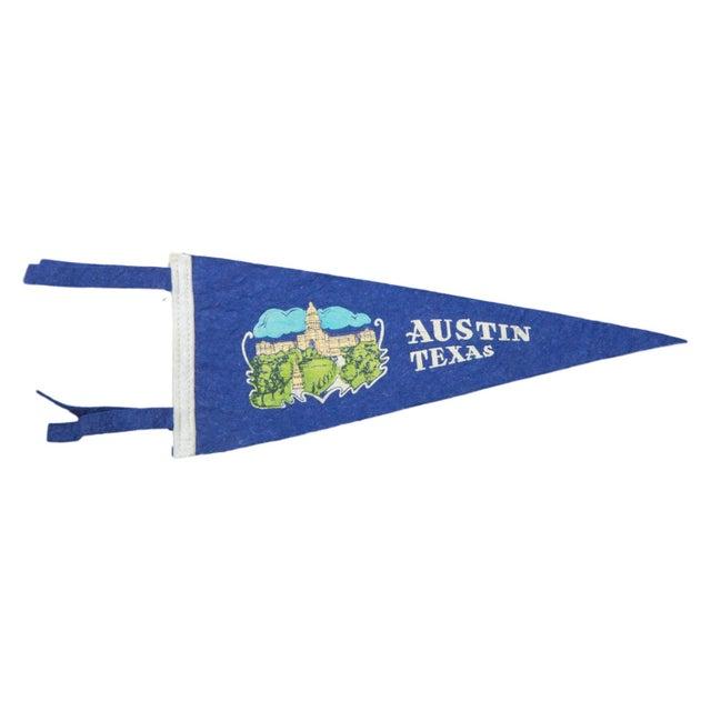 Vintage Austin Felt Flag Banner - Image 1 of 2