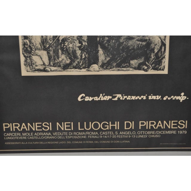 Piranesi Italian Exhibition Poster - Image 4 of 5