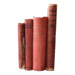 Victorian Book Collection Set of 4