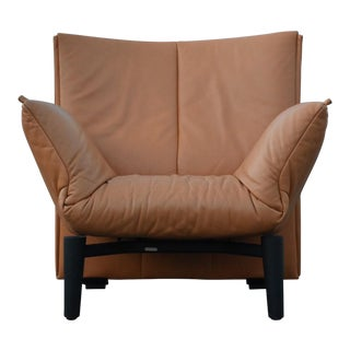 De Sede Leather Mid-Century Modern Lounge Chair