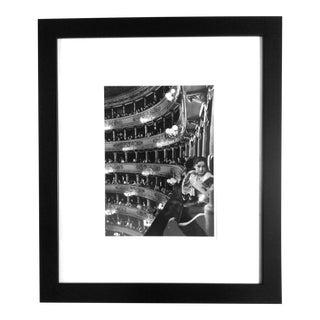 Alfred Eisenstaedt Gelatin Silver Photograph Premier at La Scala Milan 1933