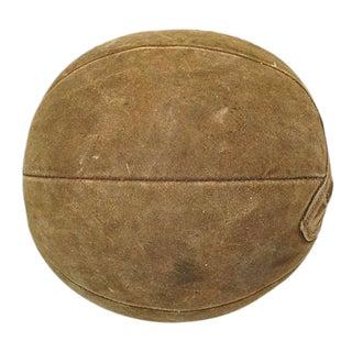 Suede Medicine Ball