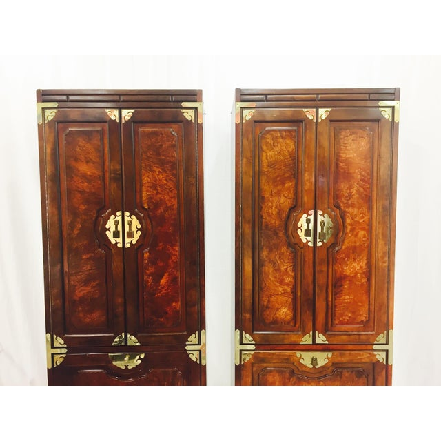 Mid-Century Asian Style Cabinets - A Pair - Image 4 of 11