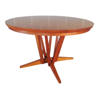 Thos. Moser Cherry Edo Pedestal Dining Table