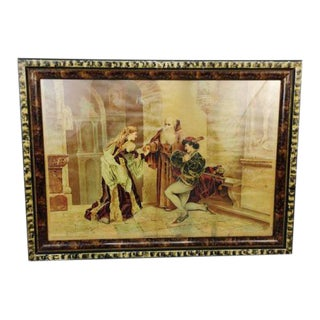 1894 Antique P.O. Vickery Marriage of Romeo and Juliet Art Print
