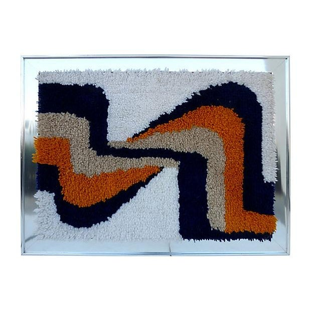 Framed Yarn Tapestry - Image 2 of 4