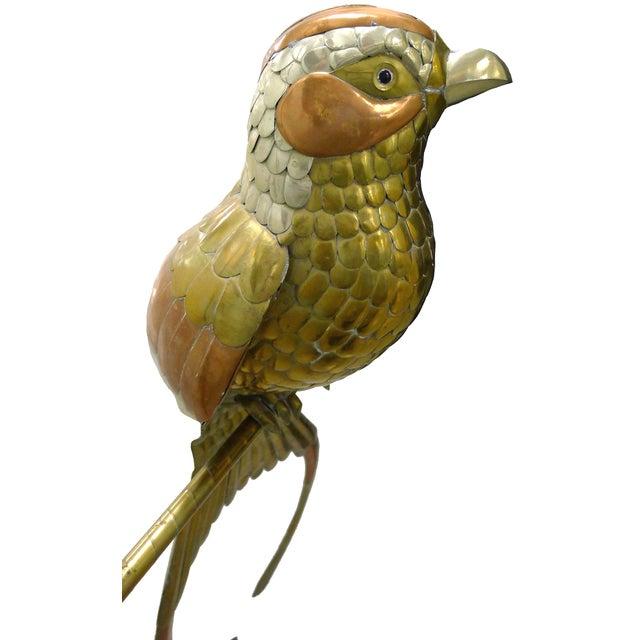 Image of Sergio Bustamante Hanging Metal Bird