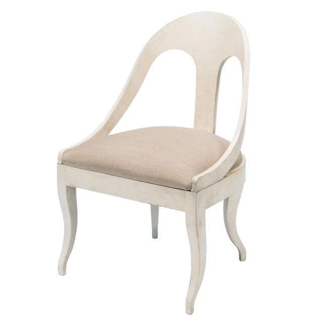 Sarreid LTD Alpiona Slipper Chair - Image 1 of 5