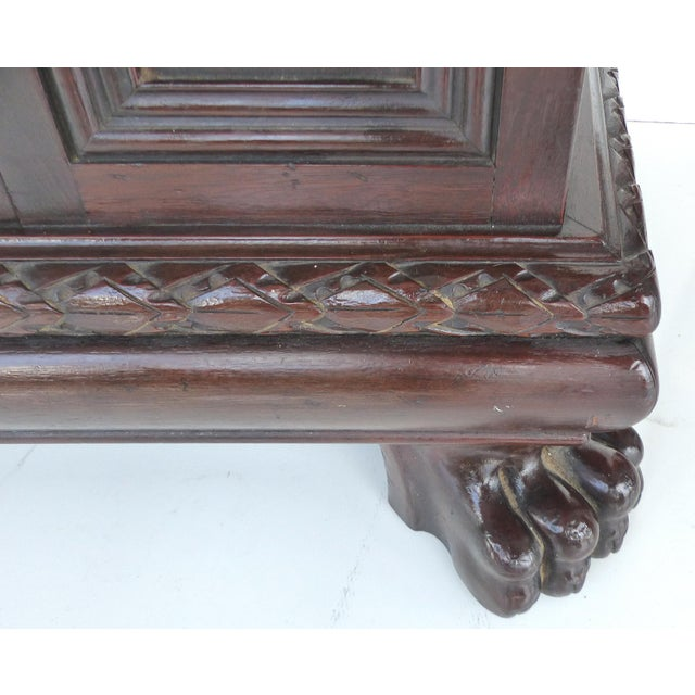 1930 S. Pagano Carved Lion Paw Cabinet - Image 8 of 10