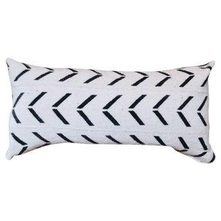 African Indigo & Mudcloth Lumbar Pillow