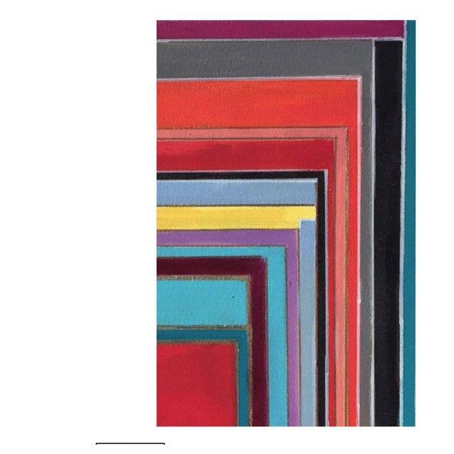 Bryan Boomershine Modern Block Graphic Painting - Image 5 of 5