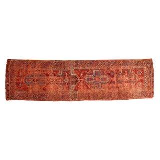 "Antique Anatolian Rug Runner - 3'9"" x 13'10"""