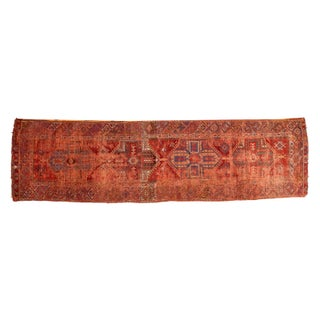 "Antique Anatolian Rug Runner - 3'9"" x 13'10"""