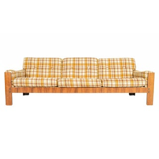 Danish Modern Rosewood Three Seater Sofa