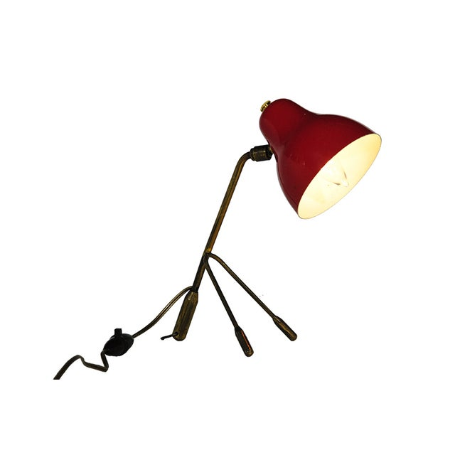 Jacques Biny Tripod Table/ Wall Lamp - Image 3 of 4
