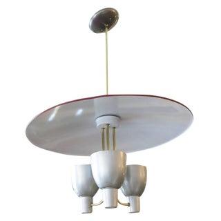 Gerald Thurston Aluminium Pendant for Lightolier