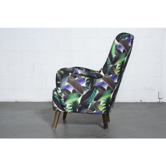 Theo Ruth Armchair Feather Upholstery - Image 4 of 10