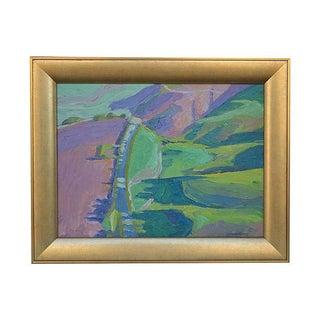 Ray Cuervas Santa Ynez Hillside Painting