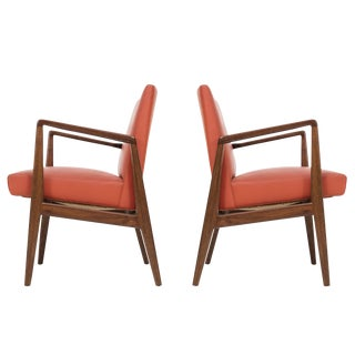 Pair of Jens Risom Armchairs
