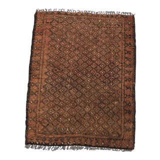 Vintage Persian Baluchi Welcome Mat - 1′8″ × 2′2″