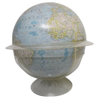 Vintage National Geographic Globe