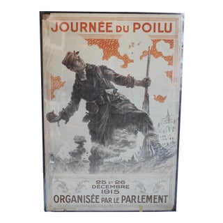1915 French World War One Poster