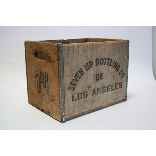 Vintage Wooden 7-Up Crate - Image 3 of 6