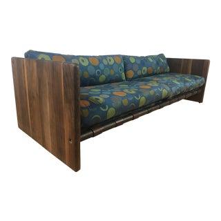 Mid-Century Sling Sofa Milo Baughman Style