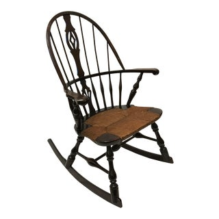 Antique Victorian Windsor Rocking Chair