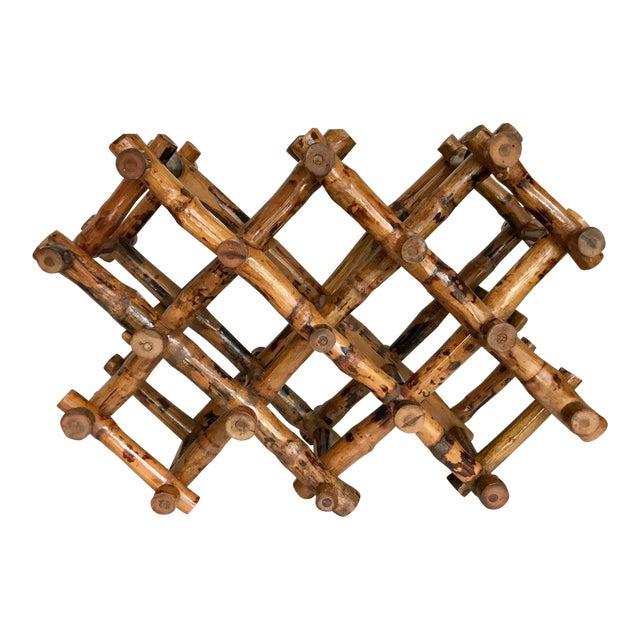 Bamboo Wine Rack - Image 1 of 4