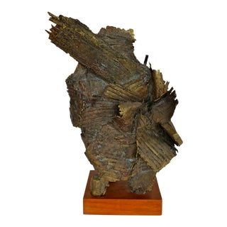 Abstract Bronze Sculpture by Russell Baldwin