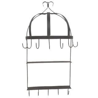 Iron Dome Hanging Shelf