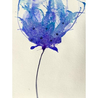 'Blueberry' Watercolor Botanical Painting