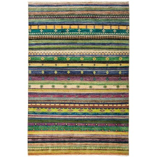"Lori, Hand Knotted Area Rug - 5'2"" X 7'9"""