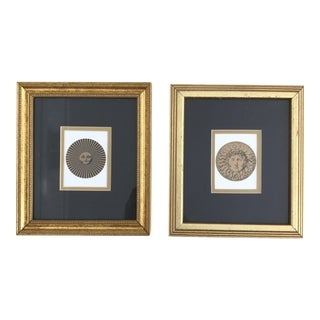 Fornasetti Moon Face Prints - A Pair