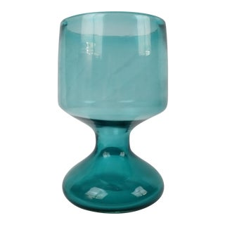 Blenko Husted Goblet Vase