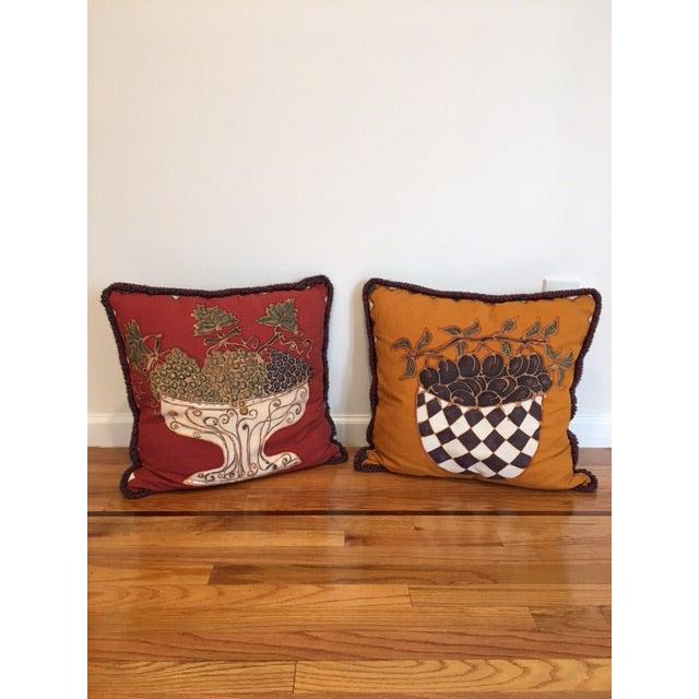Barneys New York Decorative Pillows - a Pair - Image 2 of 5
