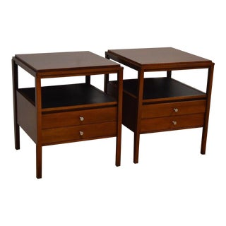 Paul McCobb for Widdicomb Walnut End Tables - a Pair