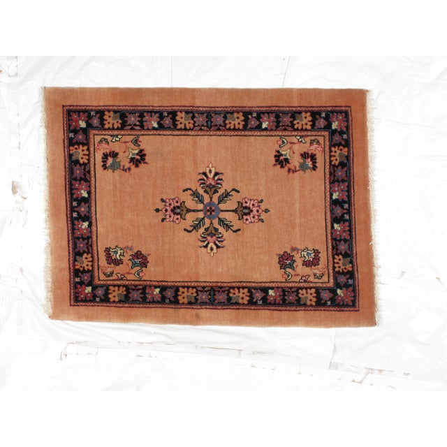 "Persian Bijar Wool Rug 2'3"" x 3'1"" - Image 2 of 4"