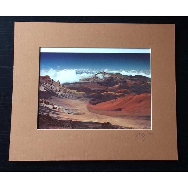 Vintage 1974 Maui, Hawaii Signed Photograph - Image 2 of 5
