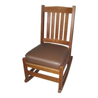 Arts & Crafts Stickley Rocking Chair