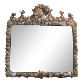 C.1930 American Sea Shell Mirror