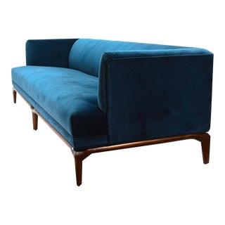 Monteverdi-Young Blue Velvet Sofa