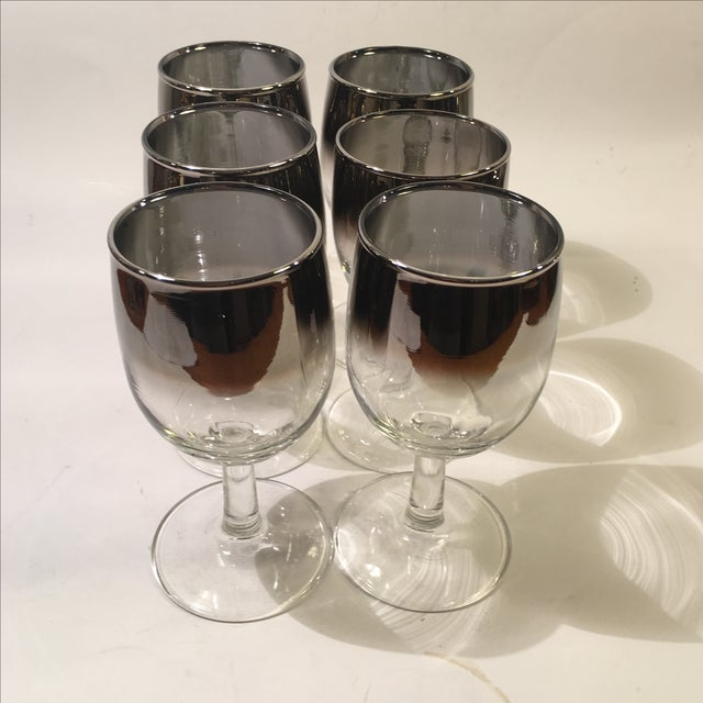 Mercury Fade Wine Glasses - Set of 6 - Image 2 of 3