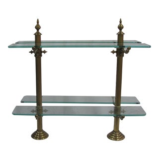 Brass, Marble & Glass Pastry Stand