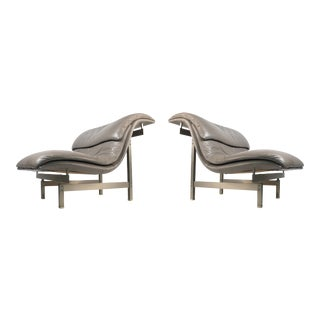 Wave Lounge Chairs by Giovanno Offreddi for Saporiti